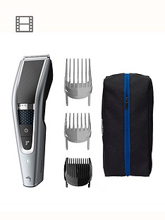 Philips Hair Clipper Series 5000 - with 28 legth settings & New Trim-n-Flow PRO - HC5630