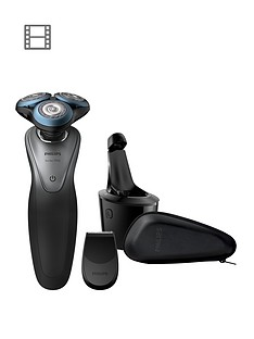 Philips Philips Smart Series 7000 electric shaver with SmartClick Trimmer and Smart Clean