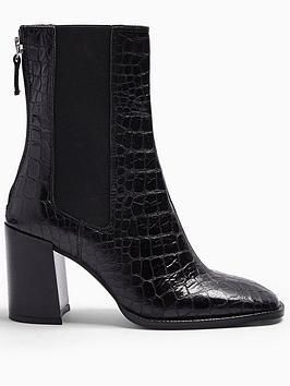 topshop-huntington-croc-leather-calf-boots-black