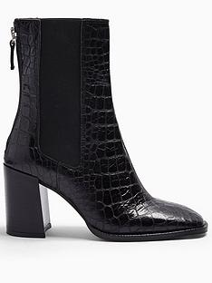 topshop-topshop-huntington-croc-leather-calf-boots-black