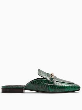 topshop-topshop-lopez-backless-loafers-dark-green
