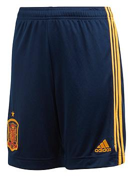 adidas-junior-home-spain-euro-2020-replica-shorts-navy