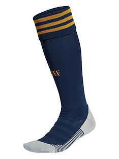 adidas-junior-home-spain-euro-2020-replica-socks-navy