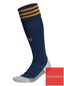 adidas-junior-home-spain-euro-2020-replica-socks-navy