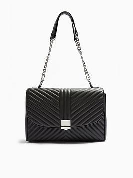 topshop-sofia-quilted-shoulder-bag-black