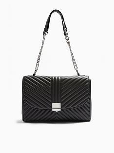 topshop-topshop-sofia-quilted-shoulder-bag-black