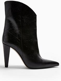 topshop-topshop-havana-cone-heel-leather-calf-boots-black