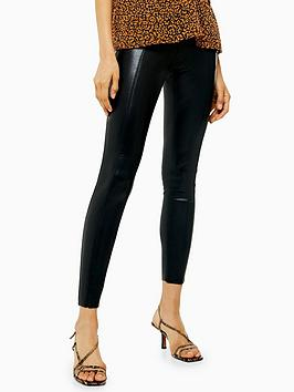 topshop-idol-pu-skinny-ankle-grazer-trousers-black