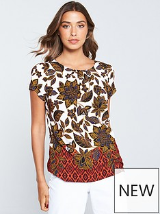 wallis-aztec-border-shell-top-rust