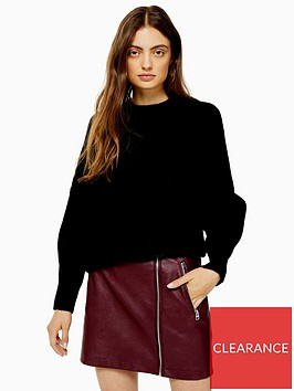 topshop-knitted-relaxed-fit-jumper-black