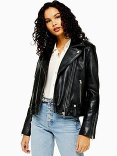 topshop-topshop-leather-classic-biker-jacket-black