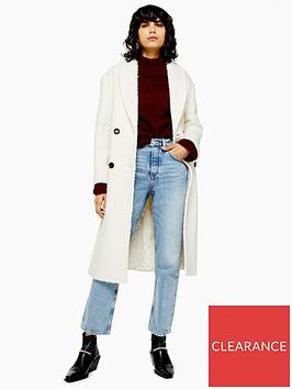 topshop-tall-kim-boucle-coat-ivory