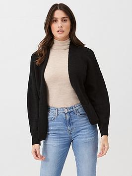 v-by-very-edge-to-edge-short-cardi-black