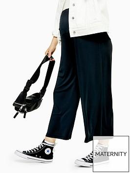 topshop-topshop-maternity-cupro-crop-wide-leg-trousers--black