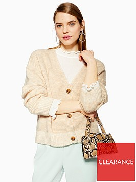 topshop-button-up-knitted-relaxed-fit-cardigan-oatmeal