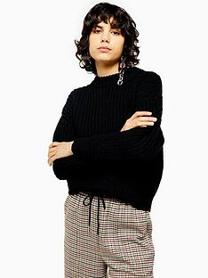 topshop-topshop-relaxed-fit-knitted-jumper-black