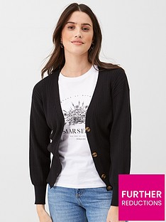 v-by-very-lightweight-button-up-cardigan-black