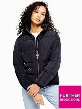 topshop-faux-fur-detachable-hood-padded-jacket-navy