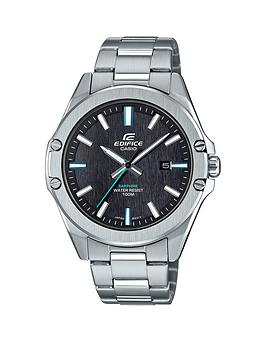 casio-casio-ediface-black-and-green-detail-date-dial-stainless-steel-bracelet-mens-watch