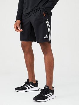adidas-training-3-stripe-short-blacknbsp