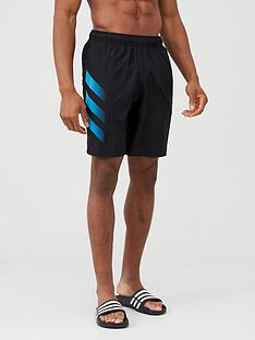 adidas-3-stripe-swim-shorts-black