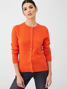 v-by-very-supersoft-cardigan-orange