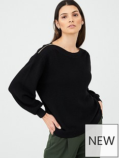v-by-very-zip-shoulder-jumper-black