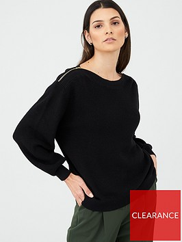 v-by-very-zip-shoulder-jumper-black