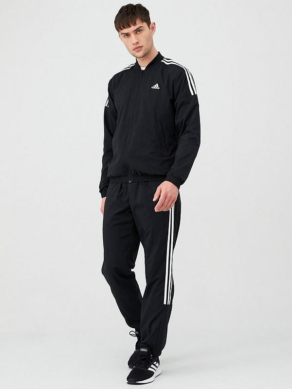 Manifiesto borgoña casamentero  adidas Woven Light Tracksuit - Black | very.co.uk