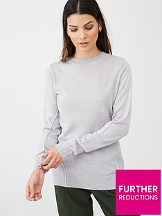v-by-very-lightweightnbspcrew-neck-seam-detail-jumper-grey-marl