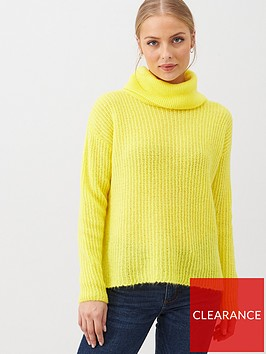 v-by-very-roll-neck-jumper-neon-yellow