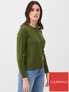 v-by-very-supersoft-cardigan-khaki