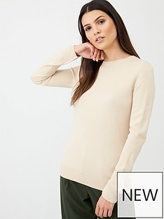 v-by-very-supersoft-crew-neck-jumper-stone
