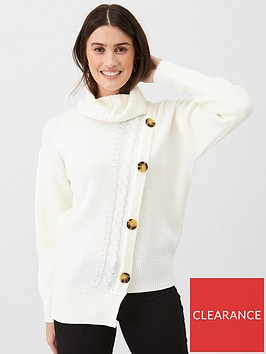 v-by-very-roll-neck-button-diagonal-jumper-ivory
