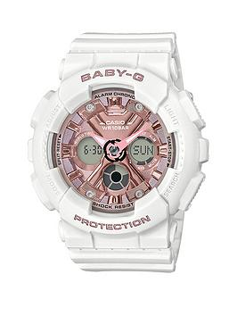 casio-casio-baby-g-rose-gold-chronograph-dial-white-resin-strap-ladies-watch