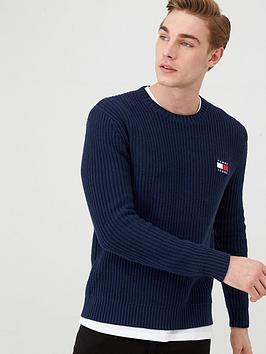 tommy-jeans-tommy-badge-jumper-navy