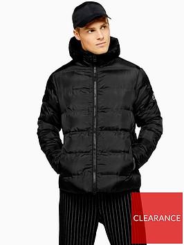 topman-topman-hooded-padded-jacket-black