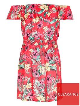 river-island-girls-floral-bardot-dress-pink