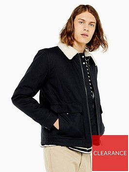 topman-topman-michigan-borg-collar-jacket-navy
