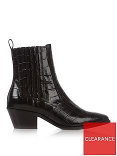 allsaints-miriam-croc-ankle-boots-black