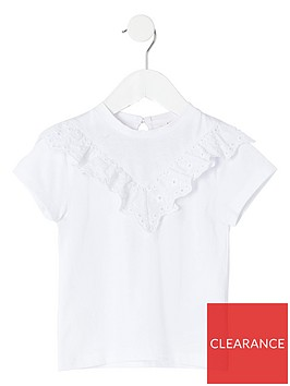 river-island-mini-mini-girls-broderie-t-shirt-white