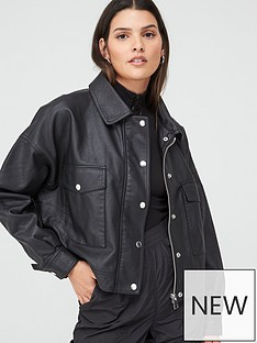 v-by-very-faux-leather-oversized-jacket-black