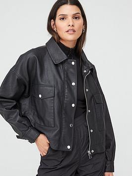 v-by-very-faux-leather-oversized-jacket-black