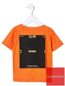 river-island-mini-mini-boys-ri-active-print-t-shirt-orange
