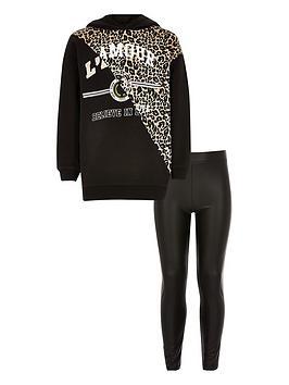 river-island-girls-leopard-printed-hoodie-outfit-black