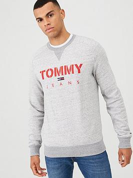 tommy-jeans-crew-neck-sweatshirt-grey-melange