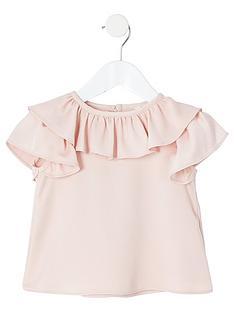 river-island-mini-mini-girls-ruffle-blouse-pink