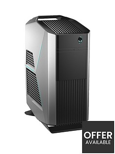 Alienware Aurora R8, Intel® Core™ i7-9700K, 8GB GeForce RTX 2080 Graphics, 16GB DDR4 RAM, 2TB HDD & 512GB SSD, Gaming PC