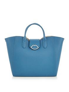 lulu-guinness-luella-cut-out-lip-tote-bag-blue