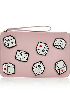 lulu-guinness-dice-grace-pouch-pink